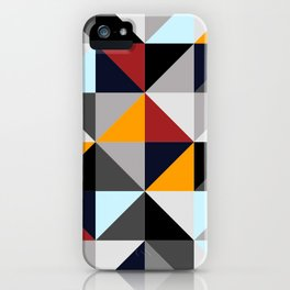 Colored Geometries iPhone Case
