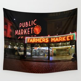 Pike Place Market Wall Tapestry