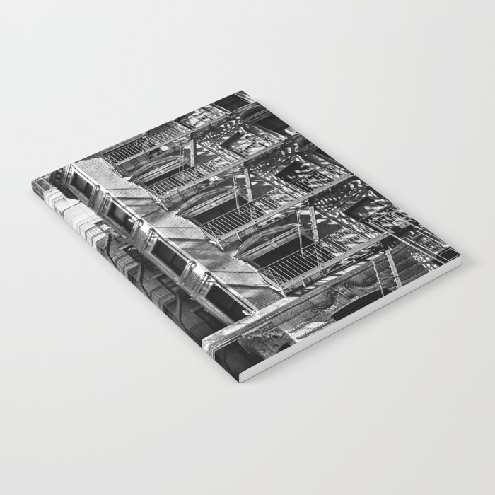 New York fire escapes Notebook