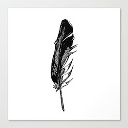 ANGEL'S FEATHER Canvas Print