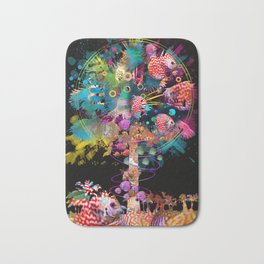 In the Palm of yur Hands Bath Mat