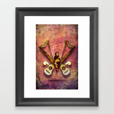 A song of harmony Framed Art Print