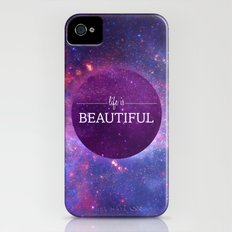 Life is Beautiful Slim Case iPhone (4, 4s)