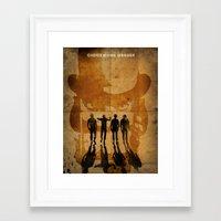 clockwork orange Framed Art Prints featuring CLOCKWORK ORANGE by Fan Prints