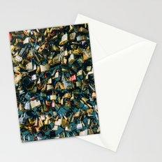 Paris Love Locks Stationery Cards