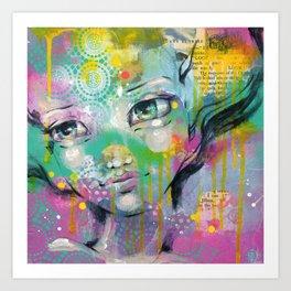 Daydreaming Away Art Print