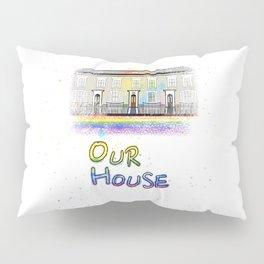 Our Rainbow House Pillow Sham