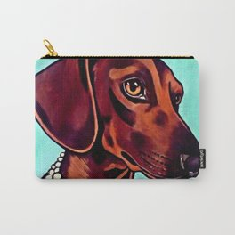 Slinky the Dachsuand Carry-All Pouch