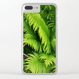 Fern world Clear iPhone Case