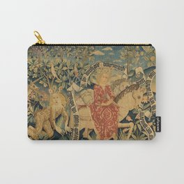 Two Scenes from Der Busant Carry-All Pouch