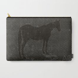 Black Dot Horse Carry-All Pouch
