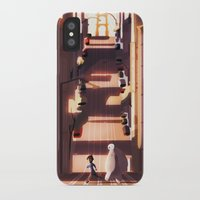 street iPhone & iPod Cases featuring street by shoua yang