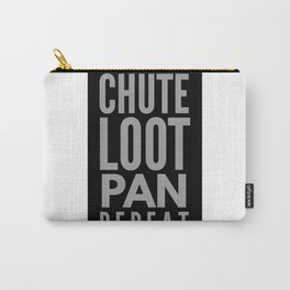 Chute Loot Pan Repeat Carry-All Pouch