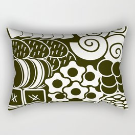 Jubako No1 Monochrome Rectangular Pillow