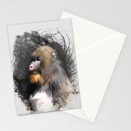 Zen Master Mandrill Stationery Cards