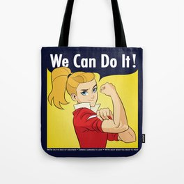 Adora Says We Can Do It Tote Bag