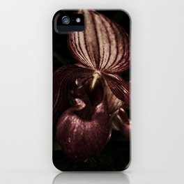 Lady Slipper I iPhone Case