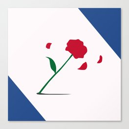 Rose Tuxedo Mask Canvas Print