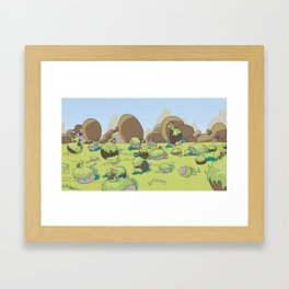 Rocamonster Framed Art Print