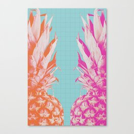 Double Pineapple's Candy Canvas Print