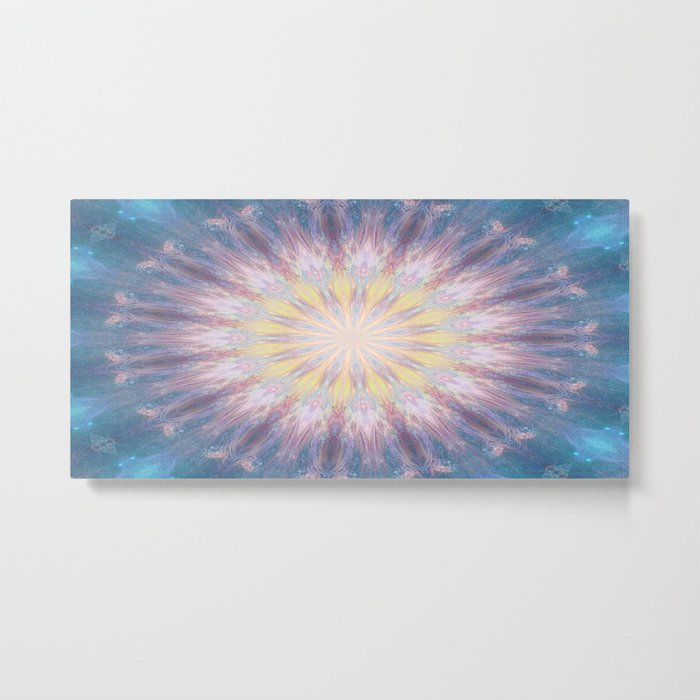 Journey through the wormhole Metal Print