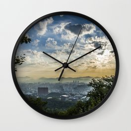 Seoul Sunrise (Namsan) Wall Clock