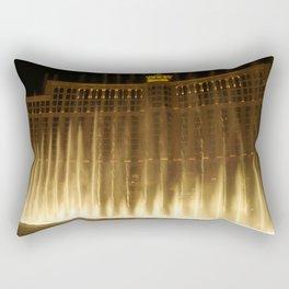Dancing Water in the Night Rectangular Pillow