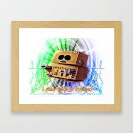 I Am You're Friend Framed Art Print