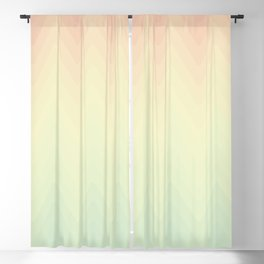 Spring waves Blackout Curtain