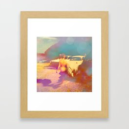 When I Was Your Age Framed Art Print