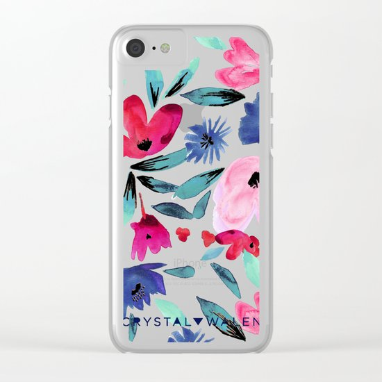 LeiLani Flower Clear iPhone Case