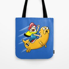 Super Adventure World Tote Bag