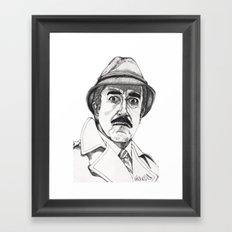 Inspector Clouseau Framed Art Print