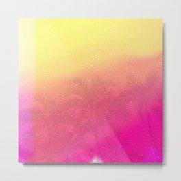 Calm Palm Metal Print