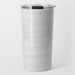 Gray Weathered Wood Travel Mug