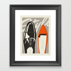 Shoes Framed Art Print