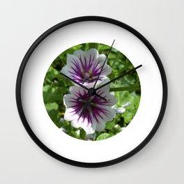 mallow bloom VII Wall Clock