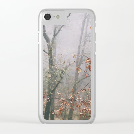 """""""Into the woods VII"""". Wandering into the fog Clear iPhone Case"""