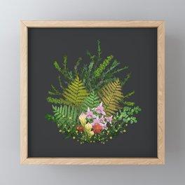 Bog Bouquet Framed Mini Art Print