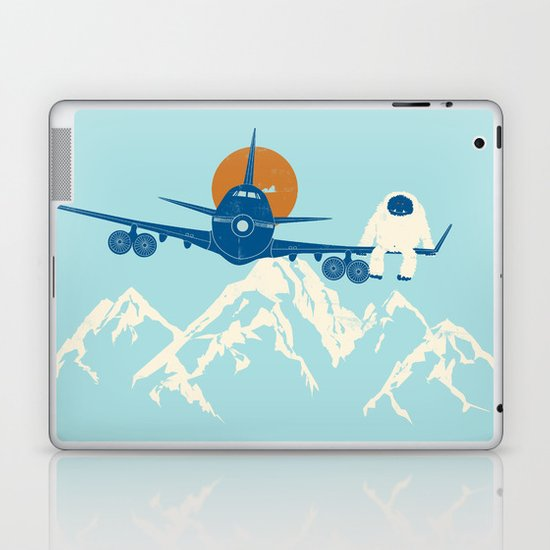 Hitchin' a Ride Laptop & iPad Skin