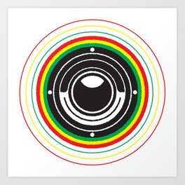 Trinity Bass Vibration Art Print