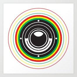 Trinity Bass Vibration Art Print