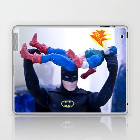 Captain America in Trouble 3 Laptop & iPad Skin