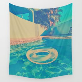 White Float Wall Tapestry