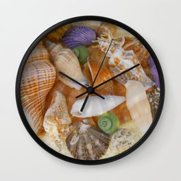 Summertime Relics Wall Clock