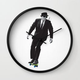 Work can wait when it's time to skate. Wall Clock