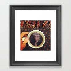 Famous Mug Shots // Marilyn Monroe Framed Art Print