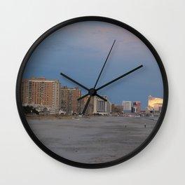 Atlantic City, NJ Wall Clock