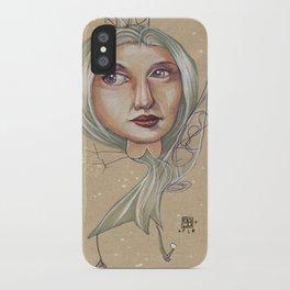 SNOWFLAKE QUEEN iPhone Case