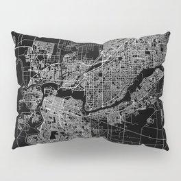 sacramento map Pillow Sham